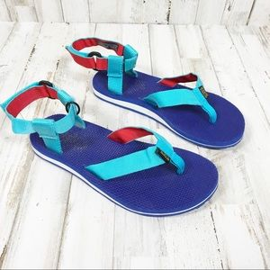 Teva Flip Flops Ankle Sandals Strap Outdoor Slides
